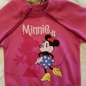 Disney Minie Mouse Sweatshirt NWOT